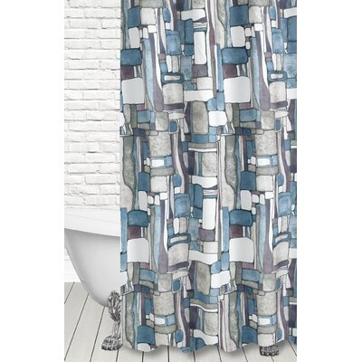 Ellefson Artful Shower Curtain