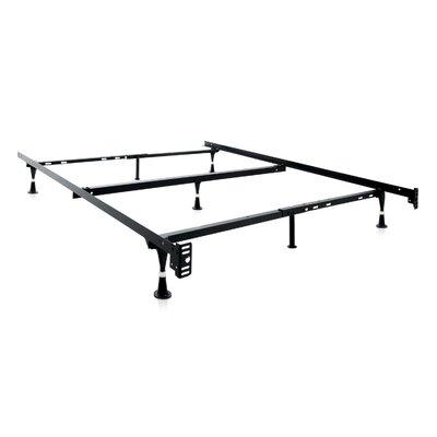 7 Leg Adjustable Metal Bed Frame With Center Support