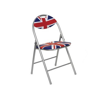 Cool Britannia Cool Britannia Union Jack Folding Chair with Padded Back
