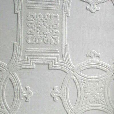 Anaglypta Early Victorian 10.05m L x 53cm W Roll Wallpaper