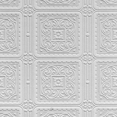 Anaglypta Turner Tile 10.05m L x 53cm W Roll Wallpaper