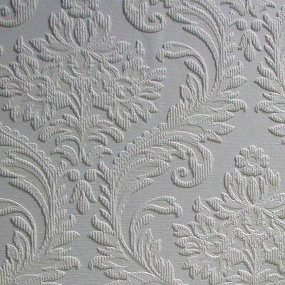 Anaglypta High Trad 10.05m L x 53cm W Roll Wallpaper