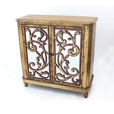 Teton Home Wood Accent Cabinet