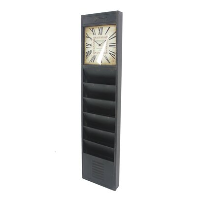 Donaway Vintage Magazine Rack Color: Black
