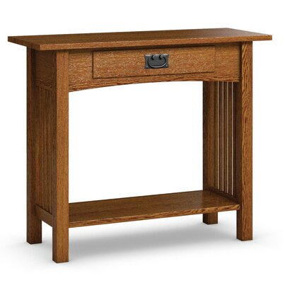 Mission Hills Sofa Table With Drawer Color: Mission