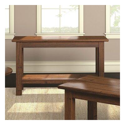 Redonda Condo Console Table Color: Hazelnut