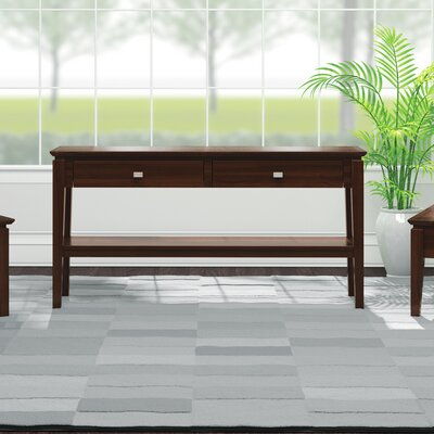 Windward Console Table Color: Brandywine