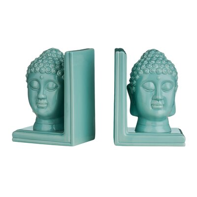 All Home Buddha Head Bookend