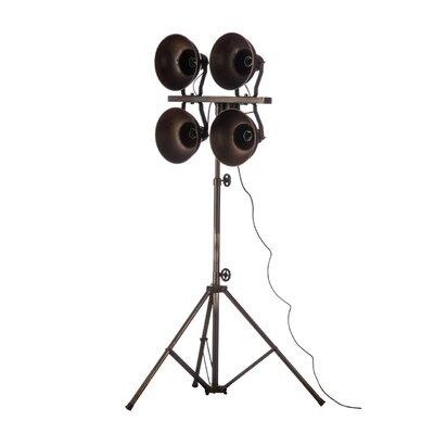 All Home Putte Quad Spotlight 188cm Tripod Floor Lamp
