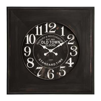 All Home Old Town Wall Clock