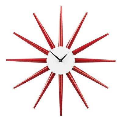 All Home 58cm Sunburst Wall Clock