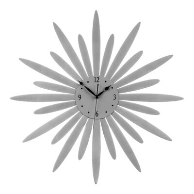 All Home Oversized 60cm Sunburst Wall Clock