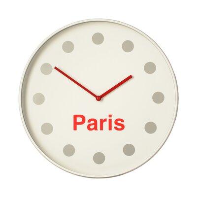 All Home 36cm Paris Wall Clock