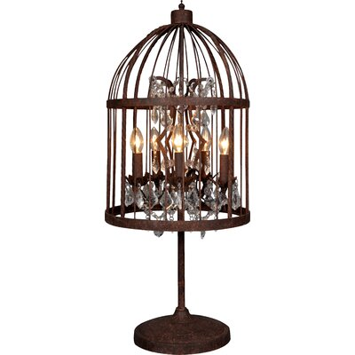 All Home Birdcage 90cm Table Lamp