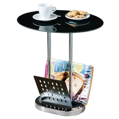 All Home Magazine Storage Side Table