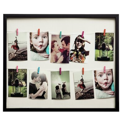 All Home 10 Peg Washing Line Picture Frame