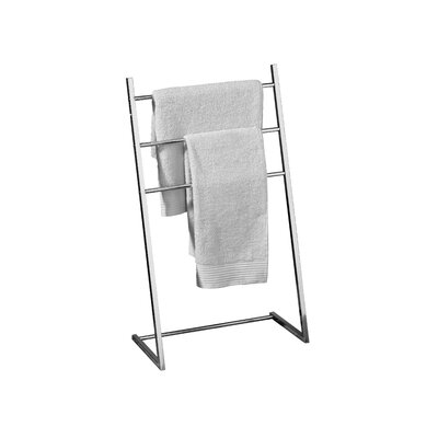 All Home Freestanding 3 Arm Towel Stand