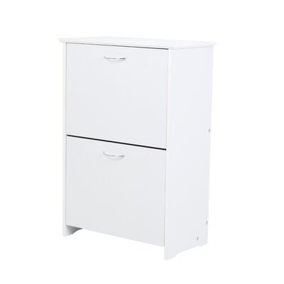 All Home Shoe Cabinet in White
