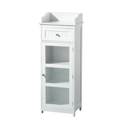 All Home 45 x 119cm Free Standing Tall Bathroom Cabinet