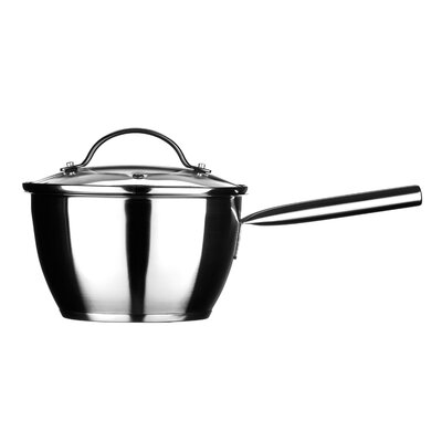 All Home Tenzo C Series 18 cm Stainless Steel Sauce Pan with Lid