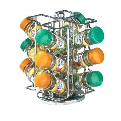 All Home 22cm Revolving Spice Rack