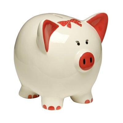 All Home Scarlet Piggy Bank