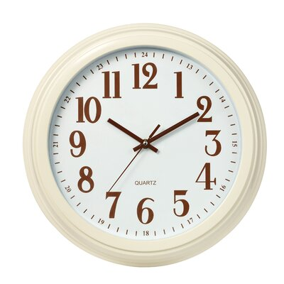 All Home 35.5cm Classic Wall Clock