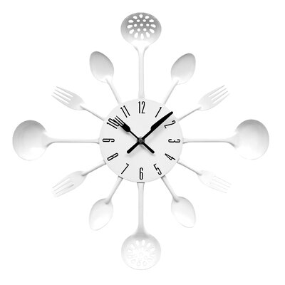 All Home Cutlery Wall Clock
