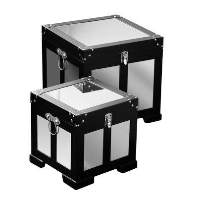 All Home Pandora 2 Piece Storage Trunk Set