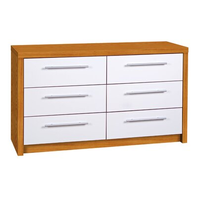All Home Hudson 6 Drawer Chest of Drawers