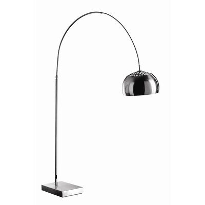 All Home Small 187cm Arched Floor Lamp