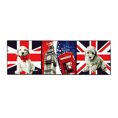 All Home London Icons Graphic Art on Canvas