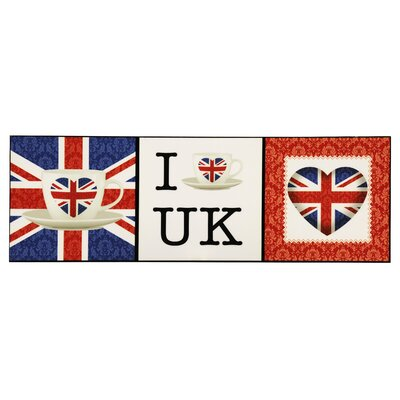 All Home I Love UK Graphic Art