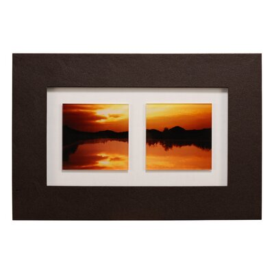 All Home Double Sunset Framed Photographic Print