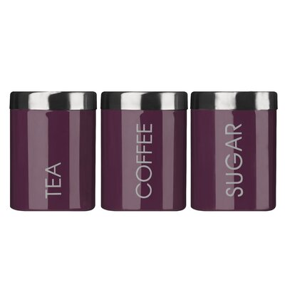 All Home Liberty Tea, Coffee and Sugar Canister Set with Lids