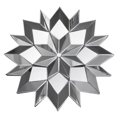 All Home 3D Star Wall Mirror