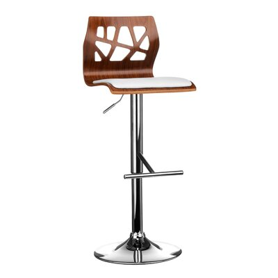 All Home Swivel Adjustable Bar Stool