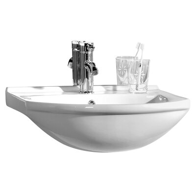 All Home 43 cm Wall Mount Sink