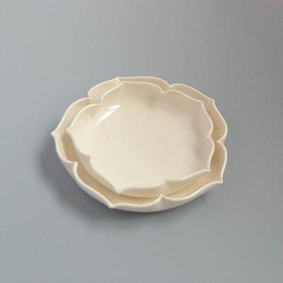 Grattify Lotus 2 Piece Serving Bowl Set