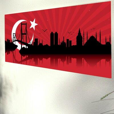 Genius Glasbild Istanbul - 33 x 95 cm