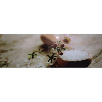 Genius Glasbild Salt - 33 x 95 cm
