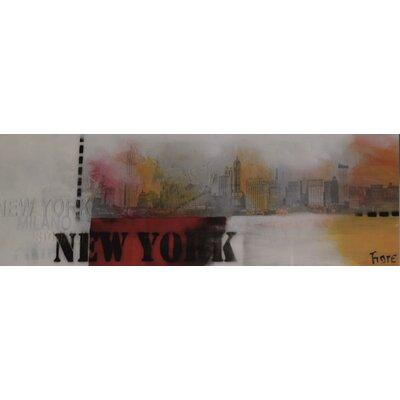 Genius Glasbild New York - 33 x 95 cm