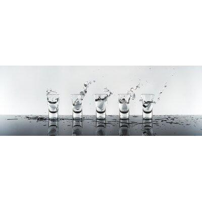 Genius Glasbild Wodka - 33 x 95 cm