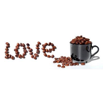 Genius Glasbild Coffeelove - 33 x 95 cm