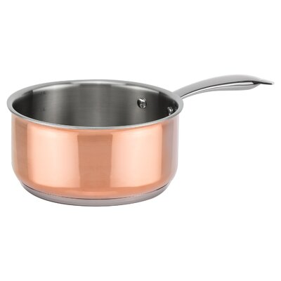 Genius Stielkasserolle Copperfit mit Deckel