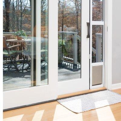 Sliding Glass Pet Door Size: Medium