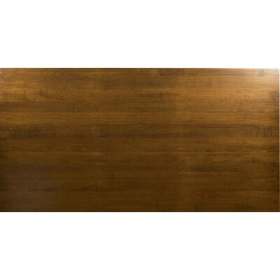 "Emerson Extendable Dining Table Color: Walnut, Size: 30"" H x 60"" L x 42"" W"