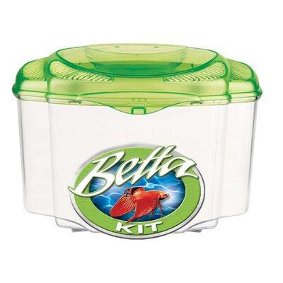 Marina 0.5 Gallon Betta Pals Aquarium Kit Color: Green