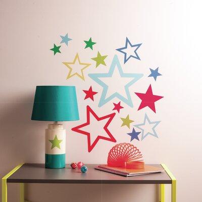 Wallies Murals & Cutouts Stars in Stars Big Wall Stickers