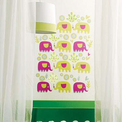Wallies Murals & Cutouts Baby Elephants Wall Sticker